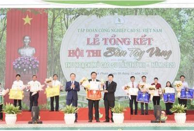 Cao su Phú Riềng ba lần liên tiếp đạt giải nhất Hội thi Bàn tay vàng.